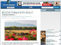 Conde Nast, Hotel Chatter: Horses Go to Rehab at New Mexico's Tamaya Resort